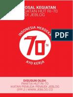 Proposal Hut Ri - 70 di Jeblog