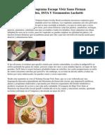 Primera Dama Y Programa Escoge Vivir Sano Firman Acuerdo Con Alcaldes, INTA Y Tresmontes Luchetti