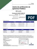 3157285 DCS PR 10 F1 Procedimiento de Certificación de Segmentos Fieldbus