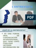 El proceso de la entrevista