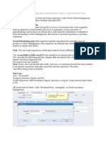 Oracle R12 Internal Requisition and Internal Sales Order Process