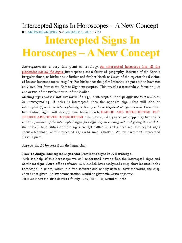 Intercepted signs in horoscopes astrological sign horoscope nvjuhfo Choice Image