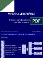 4 Criterios Para La Seleccon de Metodos Mineros-V2