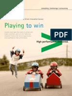 Accenture 2013 Consumer Driven Innovation Survey