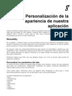 JBoss RichFaces. Capítulo 8. Personalización de la apariencia de nuestra aplicación.