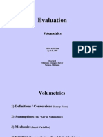 Volumetrics