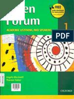Open Forum St Book