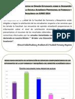 Resumen de Encuesta Op. Est. y Satis. Com. Publicado Ocaa 11-11-14
