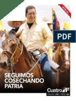 Cuatro F Nº 34. Periódico del Partido Socialista Unido de Venezuela