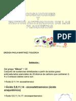 3 Eocisanoides y Factor Activador Plaquetario