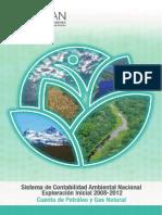 2. Cuenta de Petroleo y Gas Natural