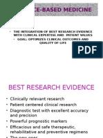 Evidence-based Medicine One