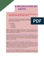 Guia de Recoleccion de Datos