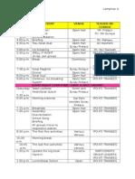 Seeds Schedule