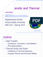 Heat Transfer and Thermal Stress