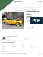 Karmann Ghia 59 Convertible Impecable! - Año 1959 - 80000 km - en MercadoLibre