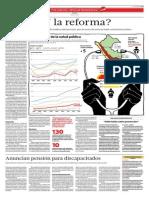 """""""Anuncian pensión para discapacitados"""". Análisis del Mensaje Presidencial 2015 - Política Social"""