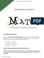 Programando Matemáticas Con Scratch _ Scratch Team @ UVa