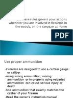 Firearm Ammunition