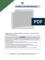 Glassboard Installation Sheet