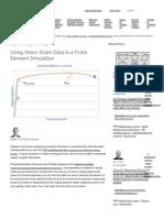 Using Stress-Strain Data in a Finite Element Simulation _ CAE Associates.pdf