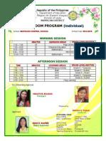 Classroom Program - 2015-2016