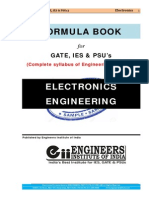 Electronics Engg Formula Book
