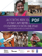 Accion Sin Daño-Construcción de Paz