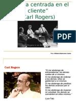 Terapia Centrada en El Cliente (Carl Rogers)