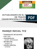 ACTUALIDADES EN EL MANEJO DE TRAUMATISMO CRANEOENCEFALICO EN.pptx