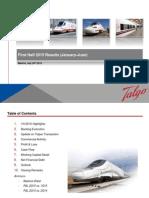 Talgo 1H2015 Results Presentation