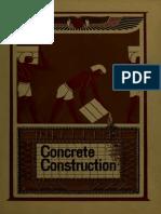 Concrete Construction - A Preliminary Pamphlet, 1904