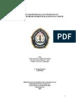 Jurnal Evaluasi Pengelolaan Lingkungan Pt. Bbe
