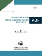 Gender Report (Final 29-6-10)