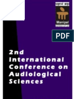 International Conference on Audiological Sciences 2015