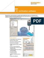 Data Sheet Renishaw OMV - On-machine 3D Verification.