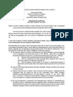 DGFT Public Notice No.23/2015-2020 Dated 30th June, 2015