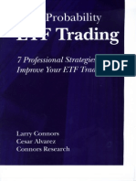Connors, High Prob ETF Trading