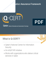 Qatar National Information Assurance Framework Ismael