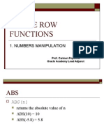 07 Numeric Functions