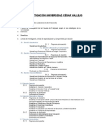 LÍNEAS de INVESTIGACIÓN Maestria Gestión Publica