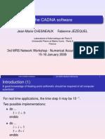The CADNA software