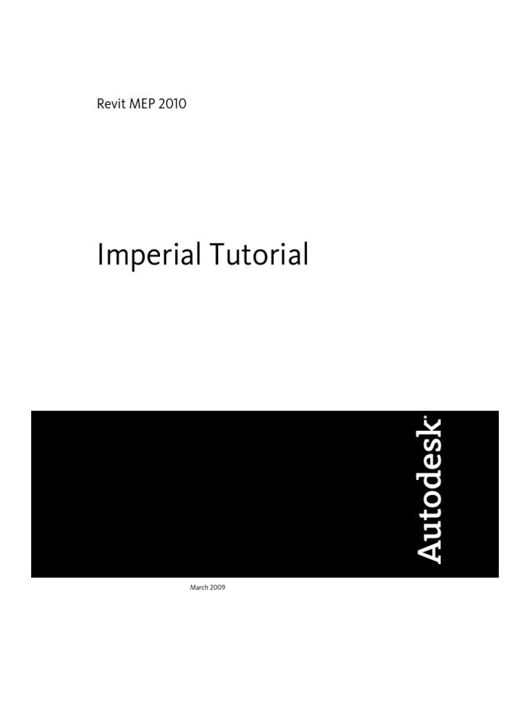 Revit Mep 2012 Tutorial PDF | Autodesk Revit | Auto Cad
