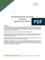 ApacheSim Ver 6_0 Session a Web Training Notes Rev0