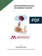 Tutorial Sederhana Mendeley