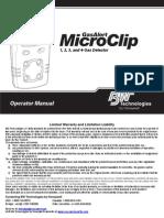 GasAlertMicroClip Operator Manual C1 En