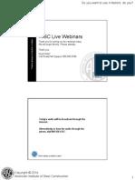 AISC K Factors