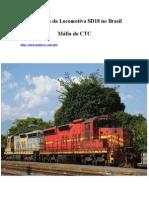 A História Da Locomotiva SD18 No Brasil