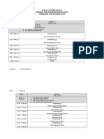Seminar Ar - Jadual Bentang [Pk]