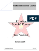Russia's Special Forces